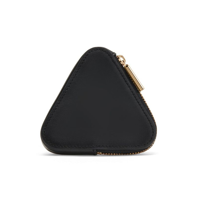 Triangle Pouch in Black