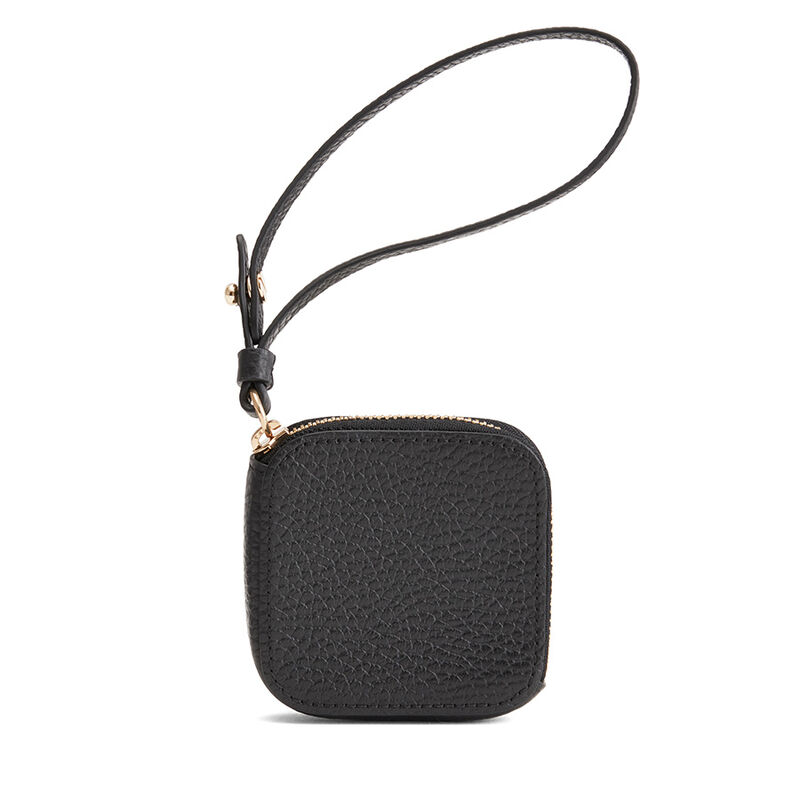 Leather Airpod Case in Black