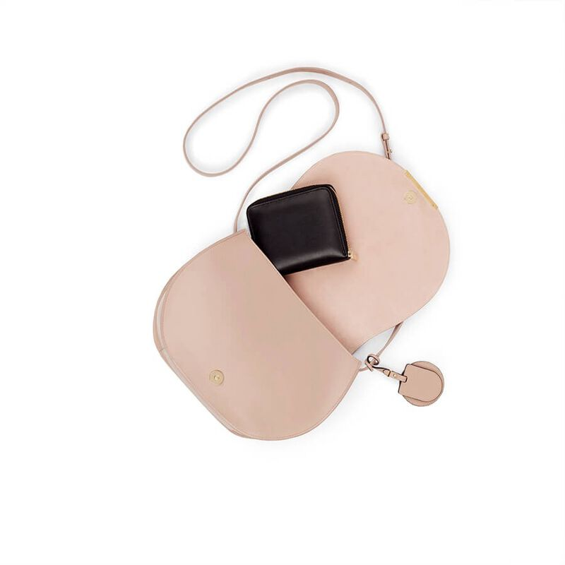 Saddle Bag in Nude