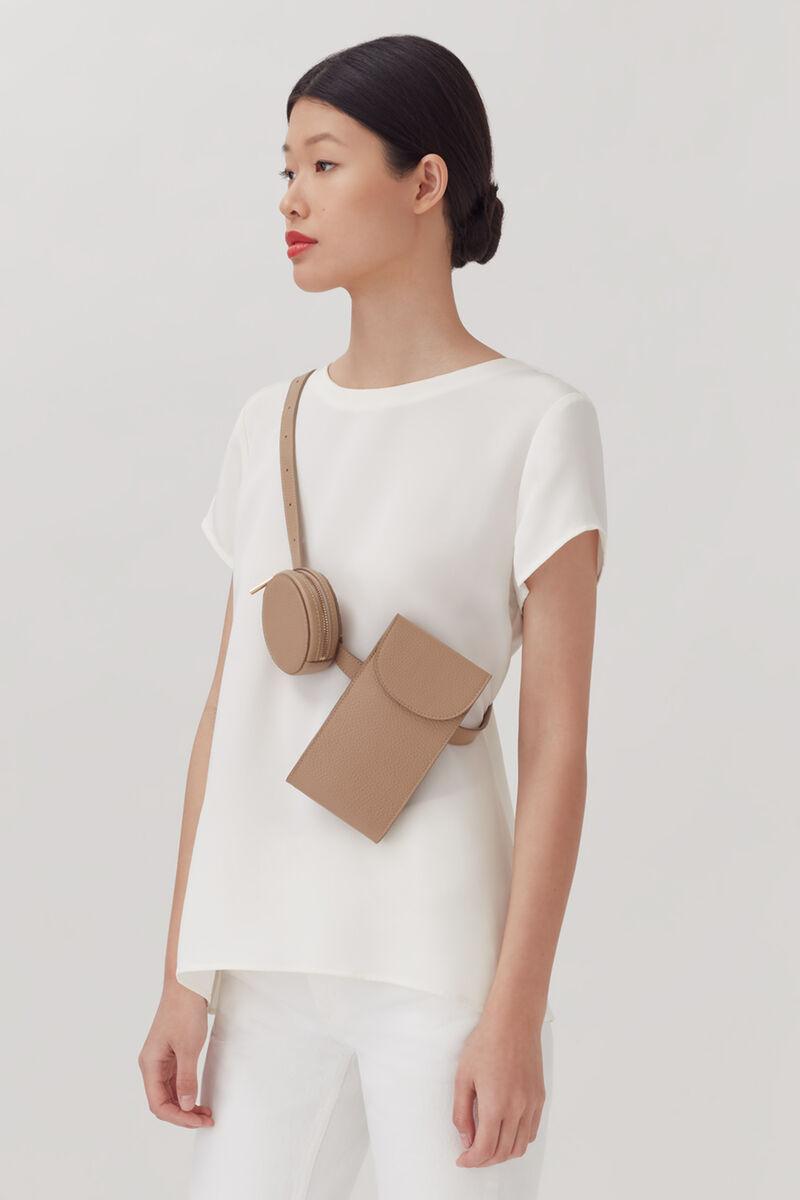 Convertible Belt Bag, Cappuccino, large