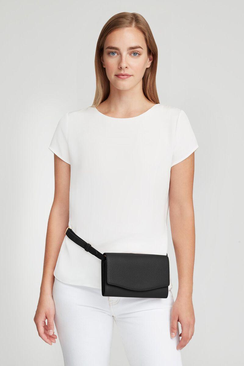 Convertible Clutch in Black