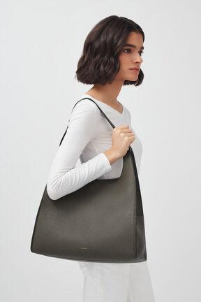 Oversized Double Loop Bag, , plp