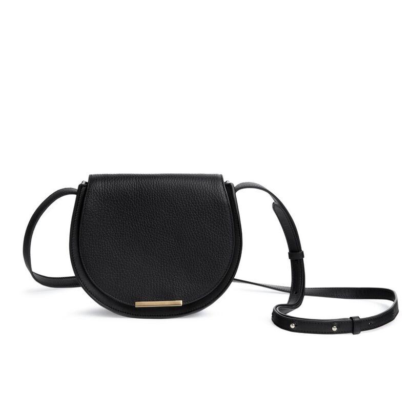 Mini Saddle Bag in Black