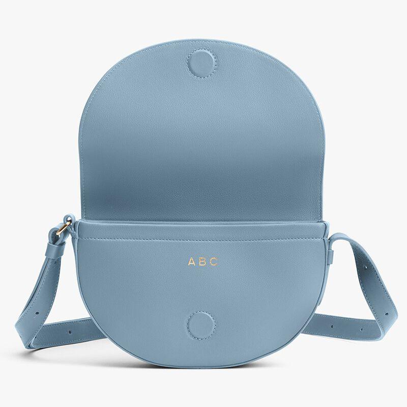 Half-Moon Mini Bag in Dusk Blue