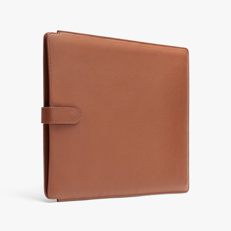 Leather Laptop Sleeve 16-inch in Caramel