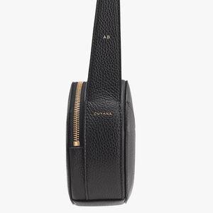 Top Handle Crossbody Bag, Black, mono-gallery