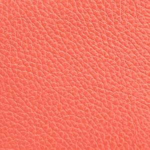 Leather Travel Case Set, Blood Orange, mono-swatch