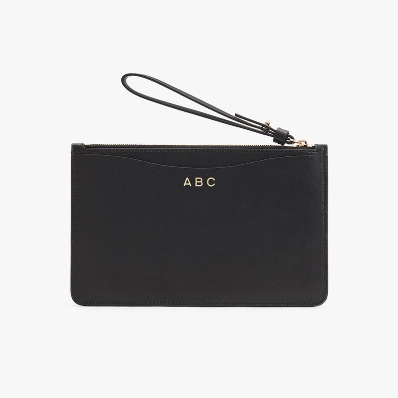 Slim Wristlet Wallet in Black