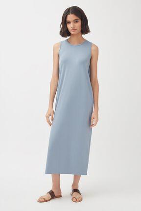 Drape-Back Dress