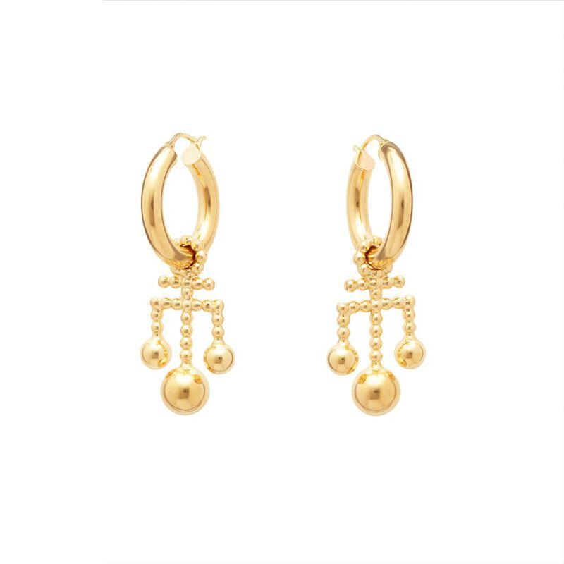Kara Earrings in Gold