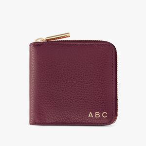 Small Classic Zip Around Wallet