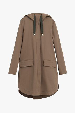 Pleat-Back Anorak