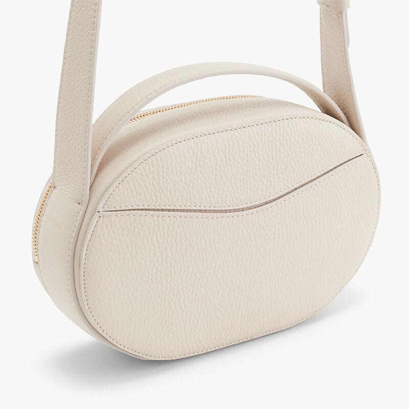 Top Handle Crossbody Bag, Ecru, large