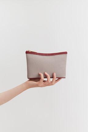Mini Canvas Zipper Pouch
