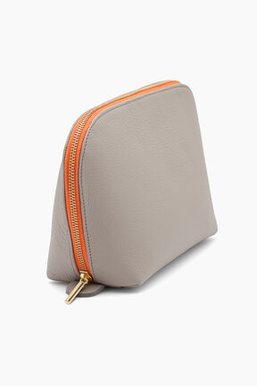 Leather Travel Case Set, Soft Grey, plp