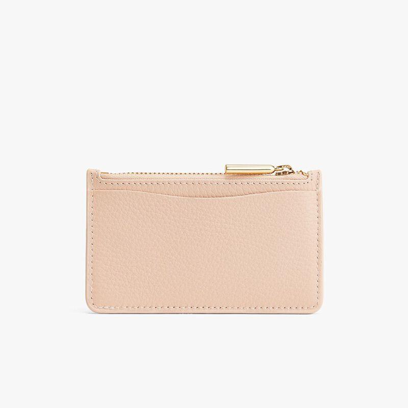 Zip Cardholder in Blush