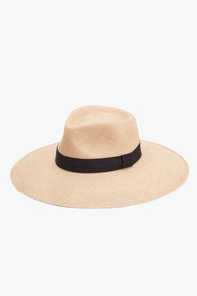 Ribbon Tie Summer Hat