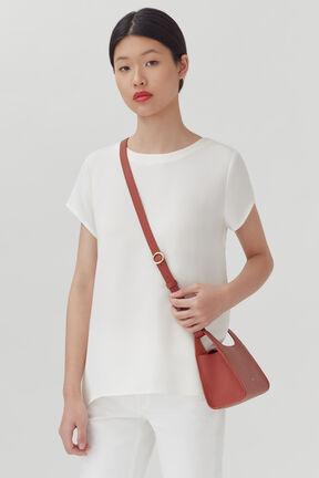 Mini Double Loop Bag, Rust, plp