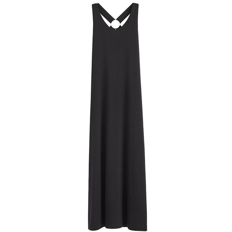 Circle Back Dress in Black