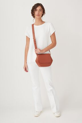 Hexagon Crossbody