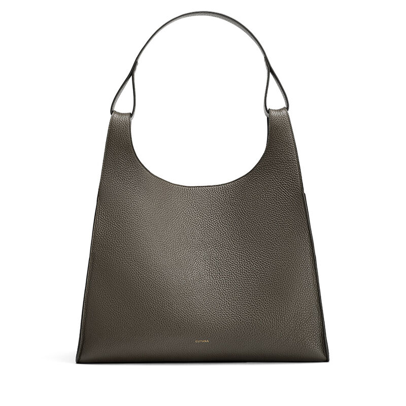 Oversized Double Loop Bag, , large