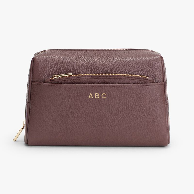 Vanity Case Set in Burgundy