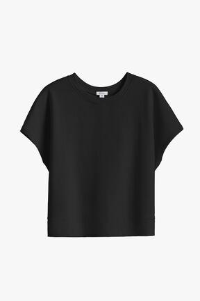 French Terry Short Sleeve Sweatshirt