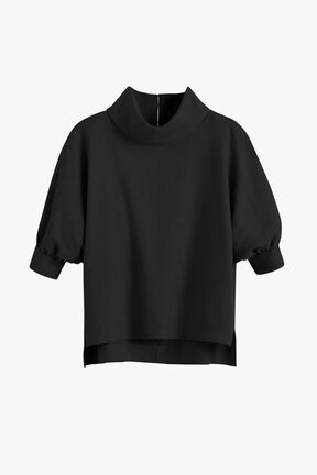 Linen Dolman Sleeve Top