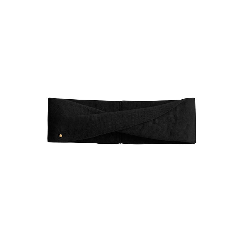 Cashmere Headband in Black