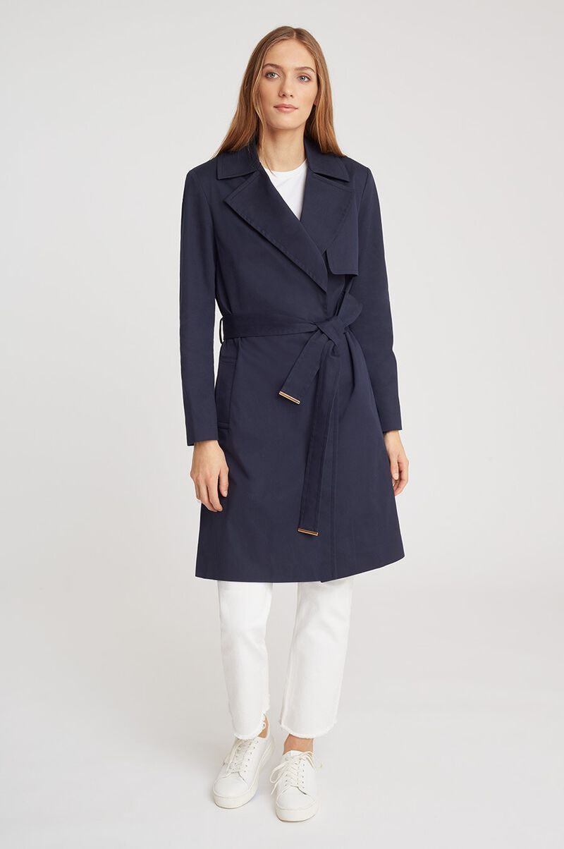 Classic Trench in Navy