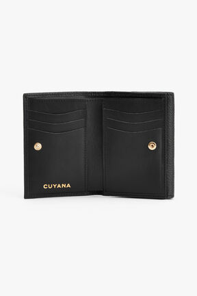 Classic Small Flap Wallet, Black, plp