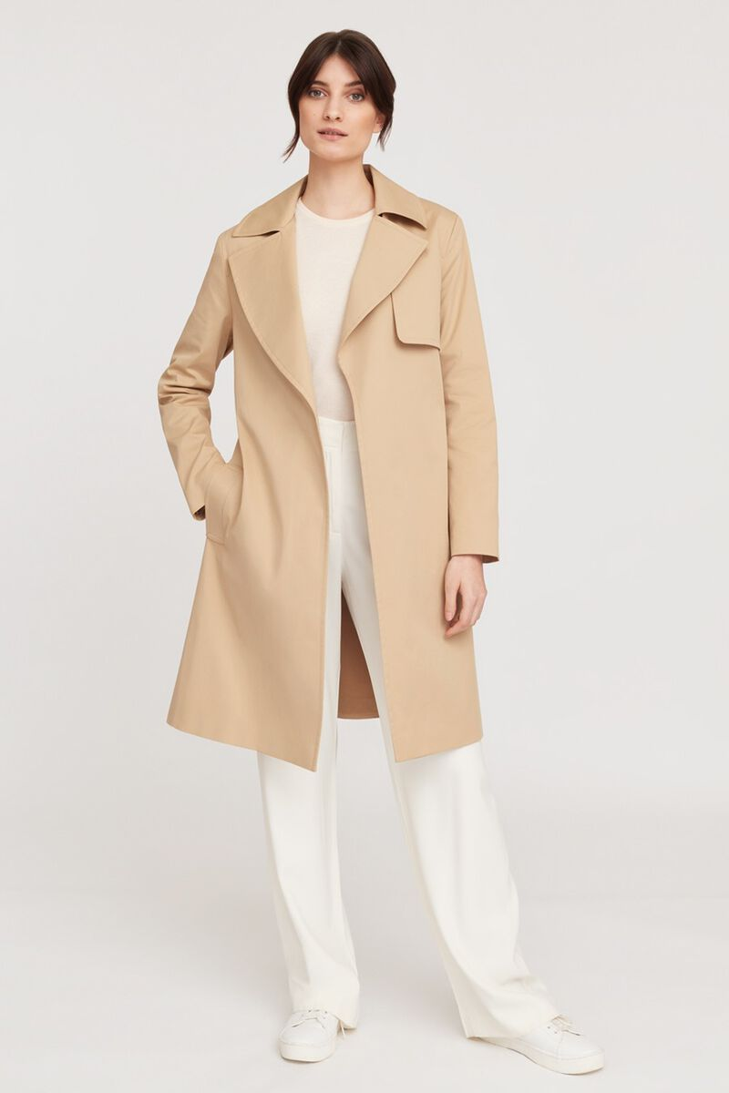Classic Trench in Wheat