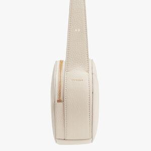 Top Handle Crossbody Bag, Ecru, mono-gallery