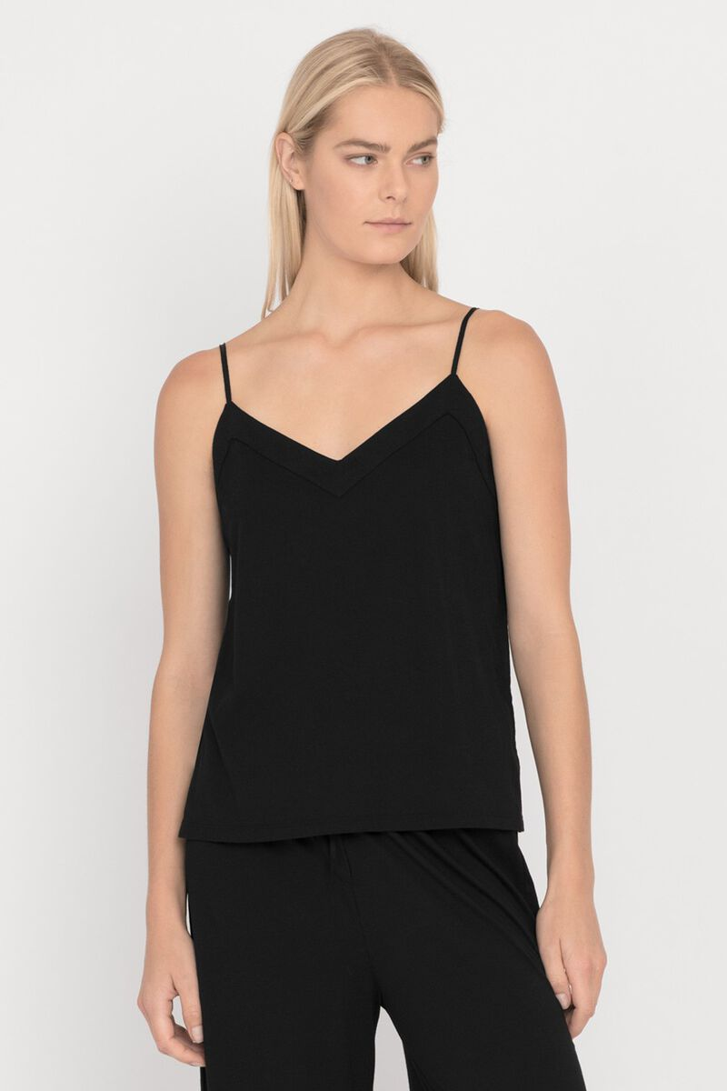 Pima Cami in Black