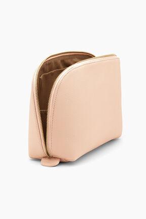 Leather Travel Case Set, Blush, plp