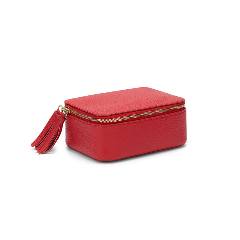 Mini Jewelry Case in Red
