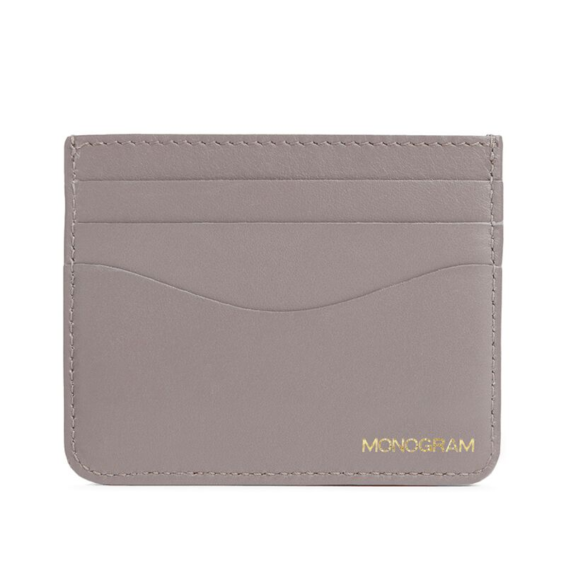 Leather Cardholder in Clay