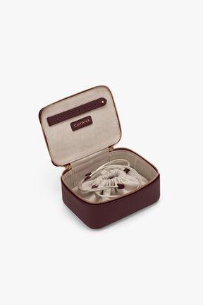 Mini Jewelry Case, Burgundy, plp
