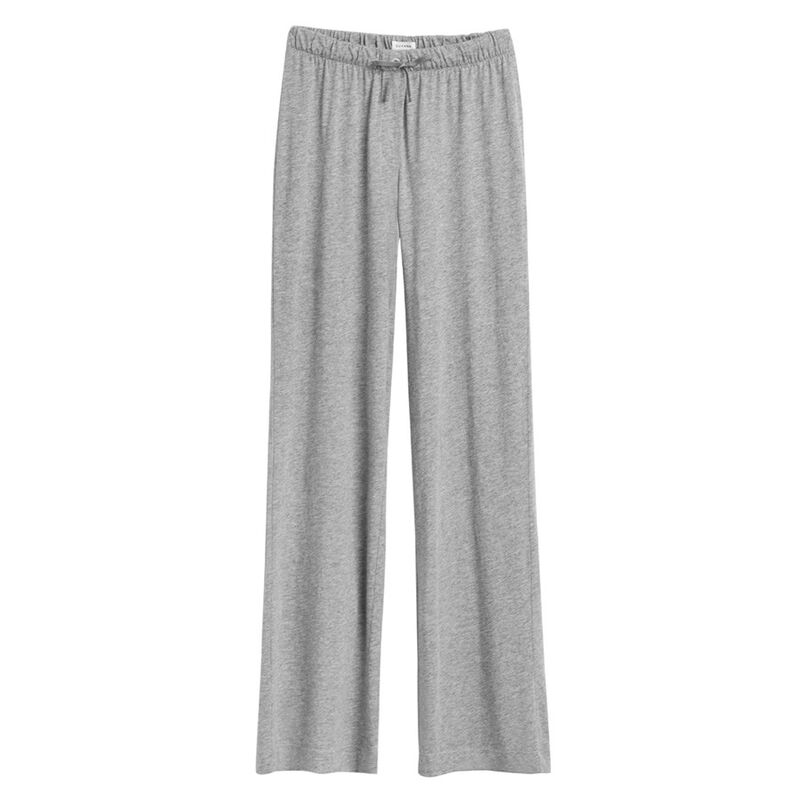 Pima Classic Pant in Heather Grey