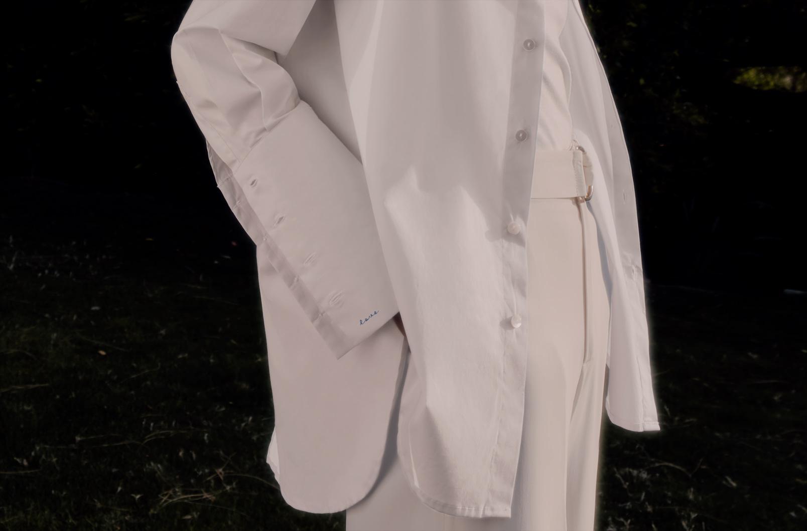 Poplin Overlay Shirt