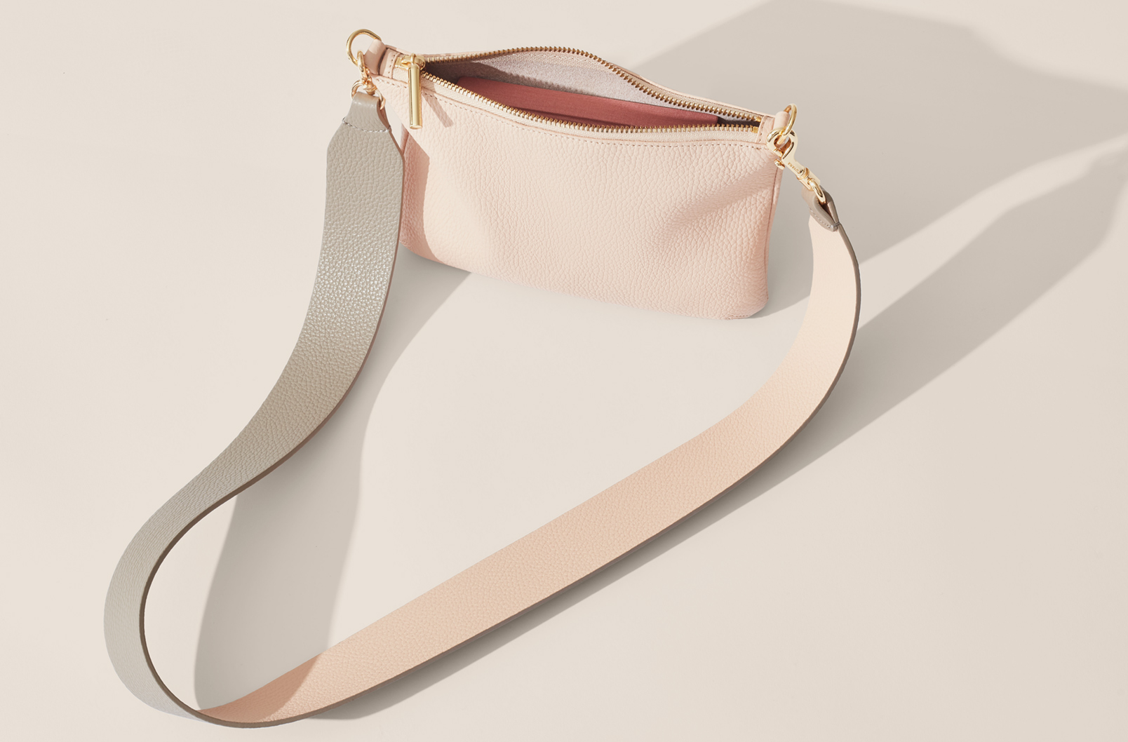 Cuyana Curved Crossbody with Wide Strap