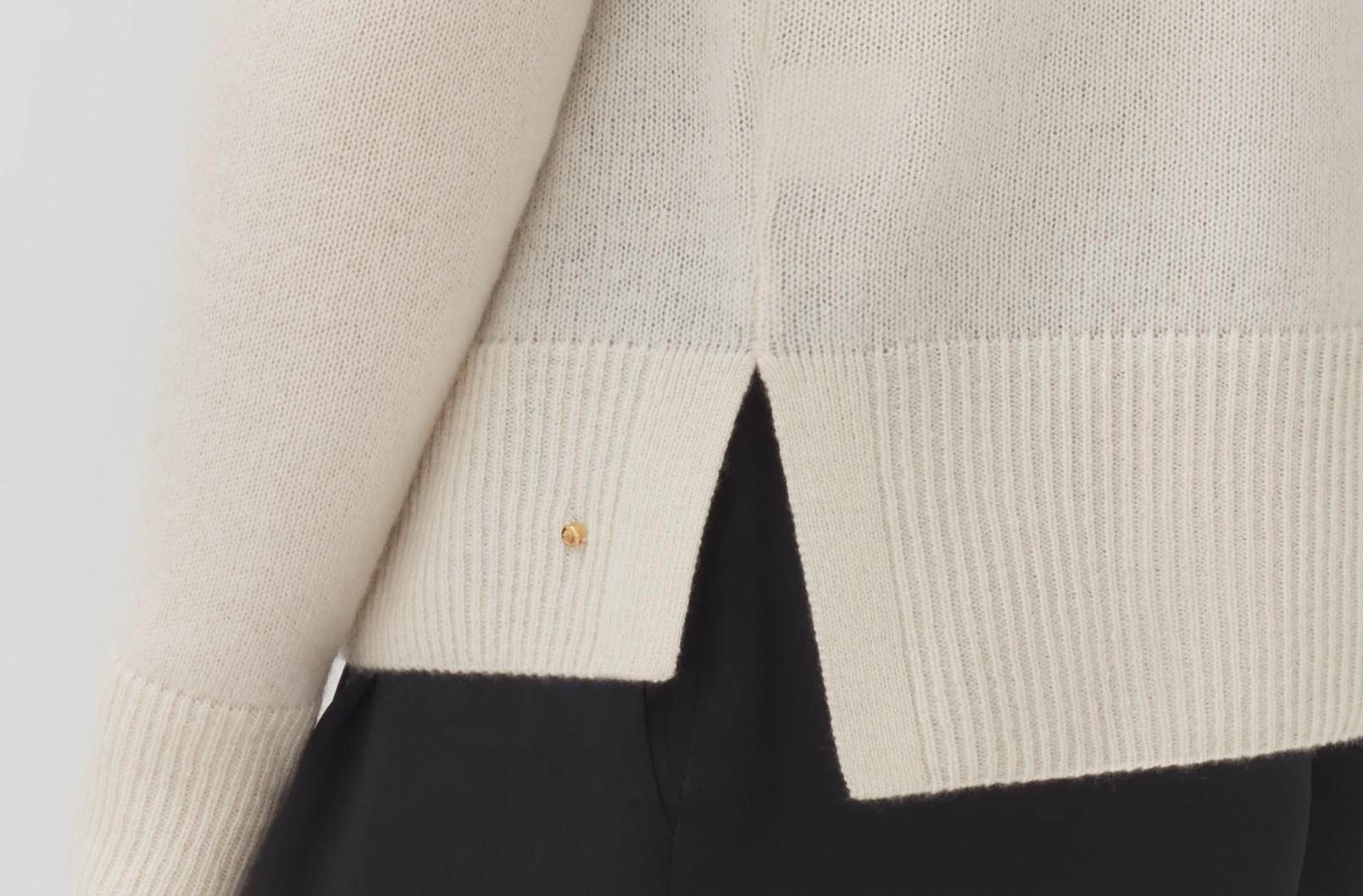 Single-Origin Cashmere Cardigan