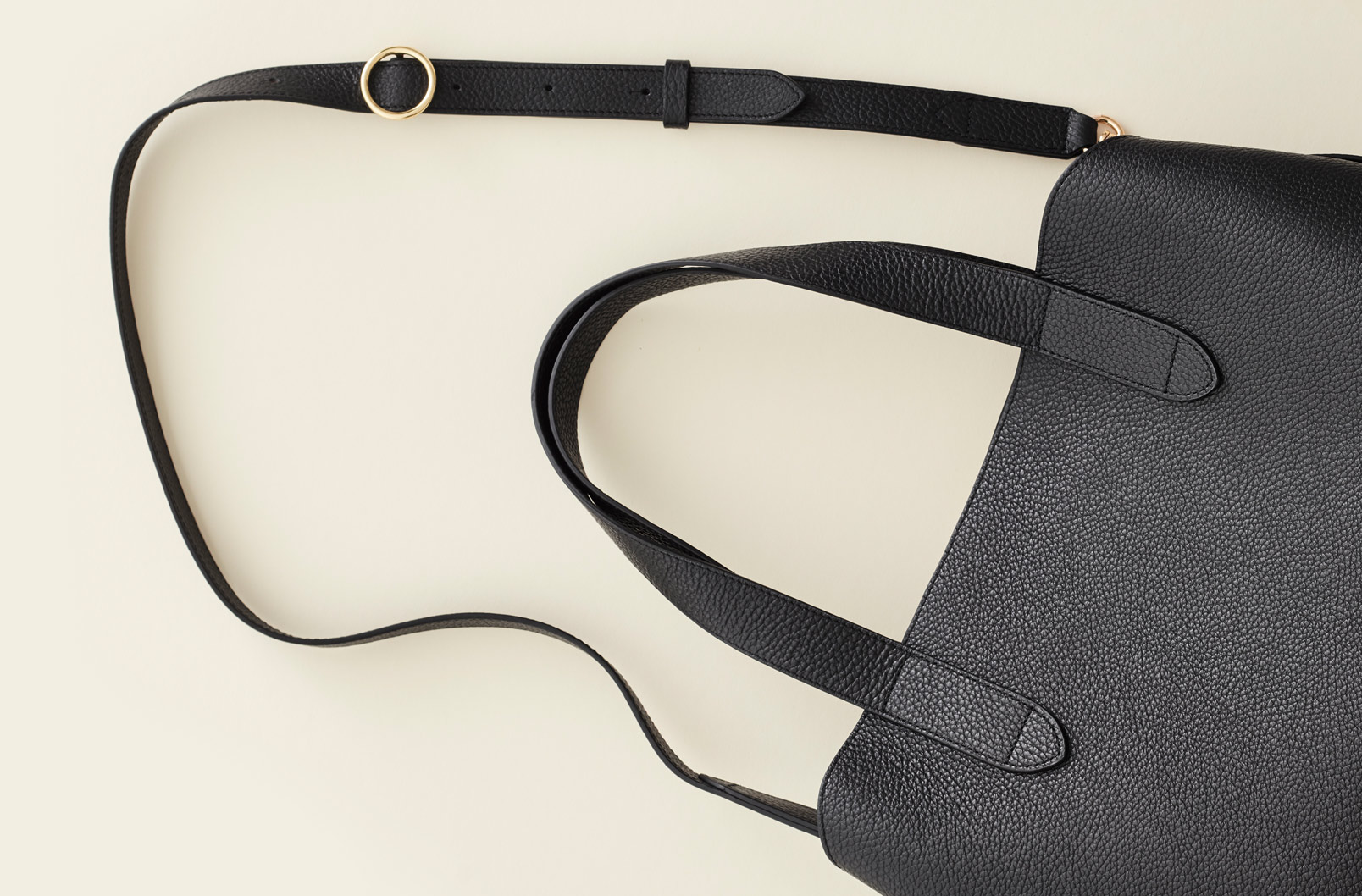 Image showing detachable crossbody strap available with Zippered Satchel