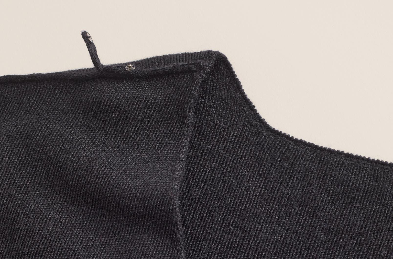 Cuyana Alpaca V-Back Sweater Dress