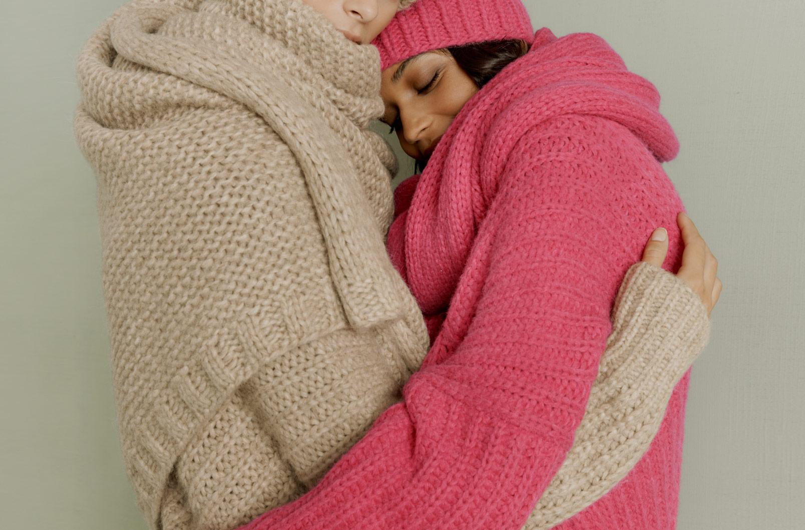 Alpaca Chunky Blanket