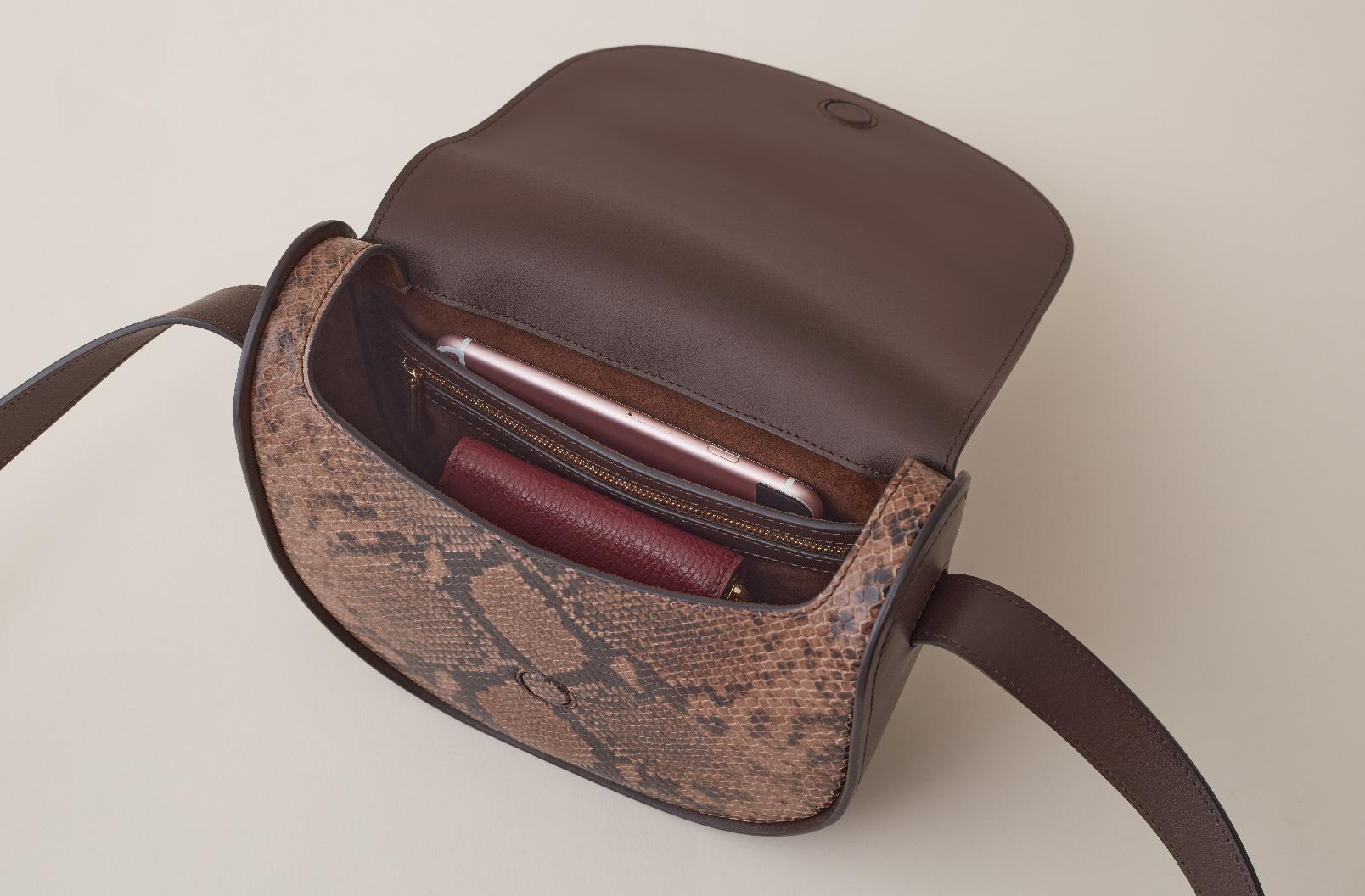 Cuyana Modern Saddle Bag