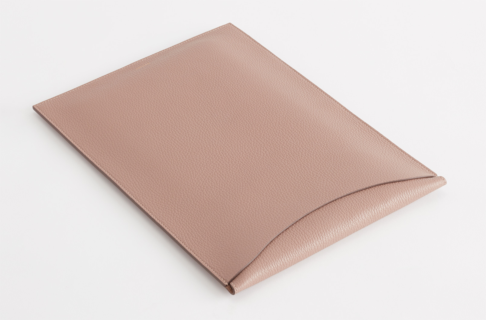 Convertible Leather Laptop Sleeve