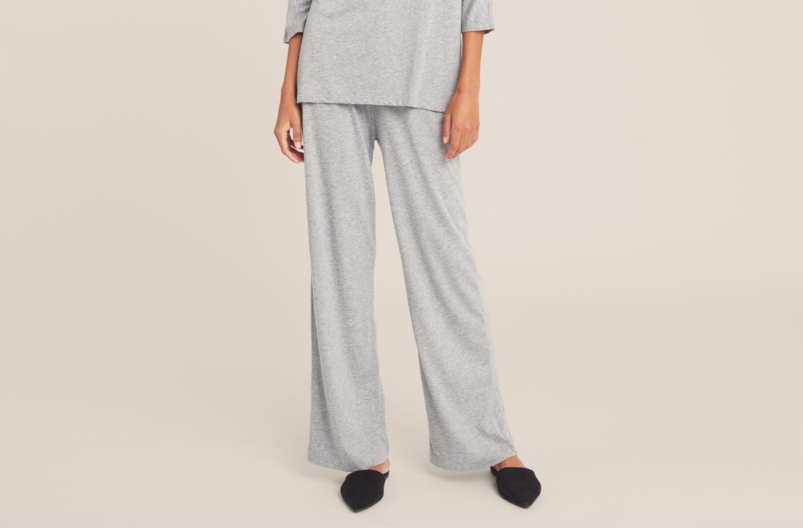 Model wearing Pima Classic Pant